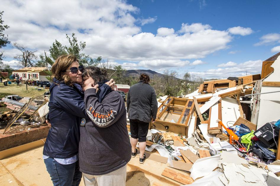 Famílias tornado
