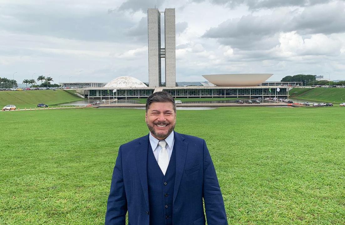 Joel Engel em Brasília