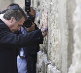 Bolsonaro no Muro das Lamentações