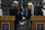 Reuven Rivlin e Benjamin Netanyahu