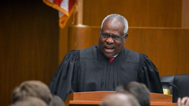 Clarence Thomas é juiz associado da Suprema Corte dos EUA desde 1991.